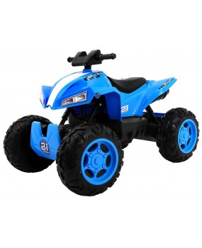 Elektrická štvorkolka Sport Run 4 x 4 modrá
